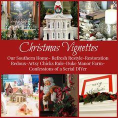 Christmas Ideas you can afford. Easy do it yourself Christmas decor.