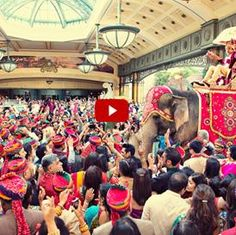 this wedding costs over a million dollars, was in Las Vegas at the Bellagio. Its an Indian Hindu wedding, the groom came on an elephant! The video is on the website that it directs you to- watch all of it!!