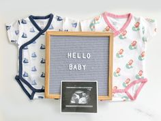 Organic baby clothes, bodysuit, layette, onsie, onzie, onesies, one piece, word onesie, baby, infant, newborn, jersey knit, mermaid/sailboat print, mint, pink, navy blue, blue, baby shower gift, new mama gift, Masilo. Shop all of our pregnancy announcement ideas at www.masilo.in, ships worldwide. Organic Baby Clothes, Sailboat, Announcement, Baby Shower Gifts, Onesies, Infant, Pregnancy, Mermaid, Ships