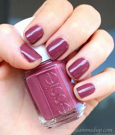 NOTW: Essie Angora Cardi swatch nail polish fall mauve pink purple neutral http://www.getglammedup.com/2013/10/notw-essie-angora-cardi.html
