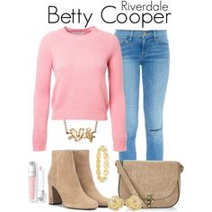 Betty Cooper Style, Betty Cooper Aesthetic, Betty Cooper Outfits, Girls Fashion Clothes, Teen Fashion Outfits, Chic Outfits, Girl Outfits, Riverdale Halloween Costumes, Riverdale Fashion