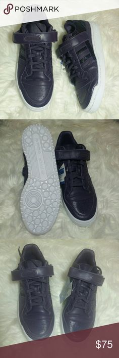 45e4d62e2f78 NWT Adidas Forum Lo Purple Sneakers Adidas Forum Sneakers - new with box -  purple and