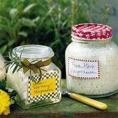 Fresh Herb Mayonnaise Recipe