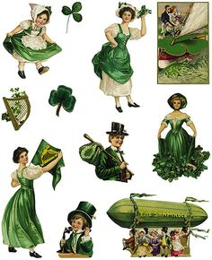diecuts st patricks fulpg1-free by Sassy Bella Melange, via Flickr