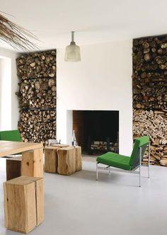 Une cheminée pour chaleur et grand espace - 40 idées de cheminées pour un salon chaleureux - CôtéMaison.fr