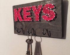 String Art - Key Hook - Custom Storage