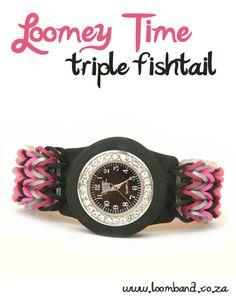Loomey Time Triple Fishtail Tutorial