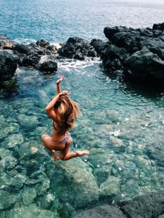 It's not a real summer if you don't jump into the ocean a thousand times! Summer Dream, Summer Sun, Summer Of Love, Summer Beach, Summer Vibes, Summer Glow, Style Summer, Summer Travel, Summer Goals