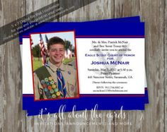 Eagle Scout Court of Honor Invitation-Commitment photo