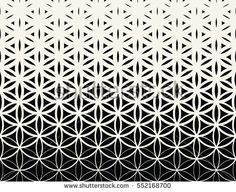 Abstract sacred geometry black and white gradient flower of life halftone pattern … - Flower Tattoo Designs Flower Of Life Symbol, Flower Of Life Tattoo, Flower Tattoo Designs, Flower Tattoos, Geometric Sleeve, Geometric Mandala, Geometric Flower, Geometric Tattoo Pattern, Abstract Pattern