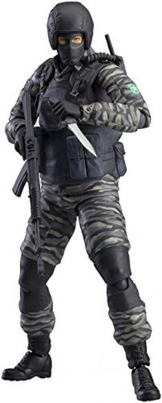JAPAN figure METAL GEAR SOLID 2 SONS OF LIBERTY Golkovic soldier New F/S #Maxfactory