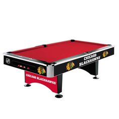Chicago Blackhawks 8Ft Pool Table By Imperial