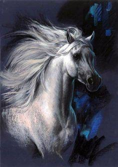 Horse ... Artist Zorina Baldescu .. Discussion on LiveInternet - Russian Service Online diary