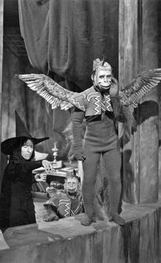 Margaret Hamilton in the Wizard of Oz.