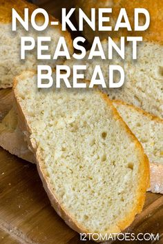 Foolproof, homemade bread anytime you need it. Loaf Recipes, Donut Recipes, Cooking Recipes, Cornbread Recipes, Jiffy Cornbread, Bread Bun, Bread Cake, Cooking Bread, Bread Baking