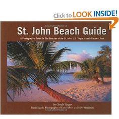 Fabulous book describing St John USVI's beaches