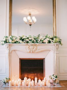 Candlelit inspiration: http://www.stylemepretty.com/little-black-book-blog/2015/03/24/organic-elegant-paris-wedding-inspiration/ | Photography: Le Secret D'Audrey - http://www.lesecretdaudrey.com/