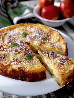Французский Яблочный Торт / The Apple Lady's Apple Cake / Gateau aux Pommes de la Reine des Pommes Meat Recipes, Cooking Recipes, Greek Desserts, Good Food, Yummy Food, Sweet Pastries, Baked Pumpkin, Russian Recipes, Apple Cake