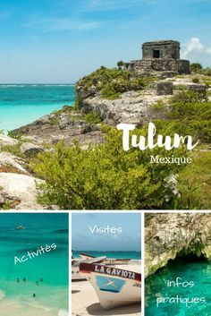 Tulum and its surroundings are must-sees in Yucatan. Here& a mini-guide to what you can do to prepare for your trip to Mexico. Mexico Destinations, South America Destinations, South America Travel, Travel Destinations, Cozumel, Cancun Mexico, Mexico Trips, Riviera Maya, Maya Tempel