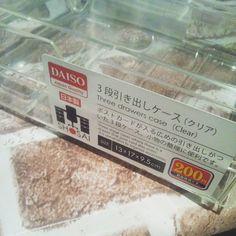 """ダイソーで""""クリアケース""""が買えちゃう!?見せる収納の作り方"""