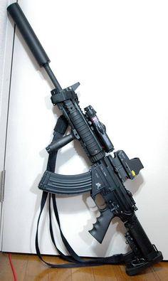 Ninja Weapons, Weapons Guns, Guns And Ammo, Armas Airsoft, Tactical Shotgun, Battle Rifle, Custom Guns, Fire Powers, Cool Guns