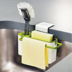NEW kitchen draining rack dish Self Draining Sink Organizer Brush Sponge Cleaning Cloth Holder with 4pcs suction cup