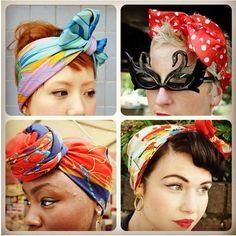 scarves for the head.
