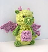 This listing is for my original crochet amigurumi Dragon Pattern. The pattern is super easy to make, I have included lots of photo to help you along the way!
