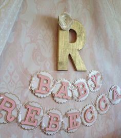 Baby Room Banner - Girl Shower Banner
