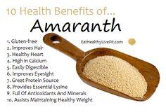 10 Health benefits of Amaranth