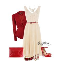 """Red Jacket"" by longstem on Polyvore"