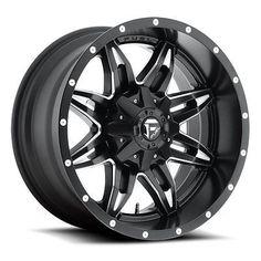 Fuel Offroad Wheels D567 20x9 Lethal 6x1356x5.5 NB5.00 01 106.4 Black Milled