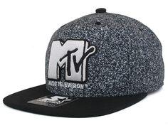 Remote Black Snapback Cap by MTV x STARTER BLACK LABEL