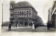 1920 - Vista da Rua Libero Badaró - Esquina da Direita com a São Bento - MCS