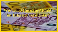 Wie möglichst schnell 1.000 Euro mtl. im Internet verdienen? #internetgeldverdienen #onlinebusiness #mlm