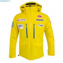 Goldwin Men Sweden Alpine Team Jacket – Yellow