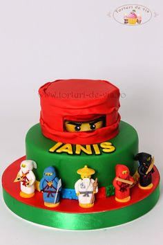 Tort Lego Ninjago pentru Ianis