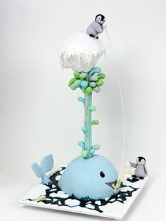 Sharon Wee Creations- WHALE AND ICEBERGS