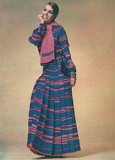 Yves Saint Laurent. French Vogue April 1969.
