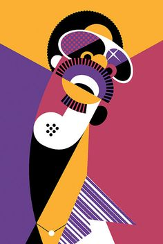 Stevie Wonder by Pablo Lobato.