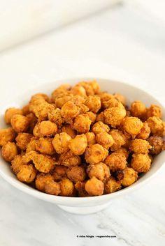Roasted Masala Chickpeas | Vegan Richa