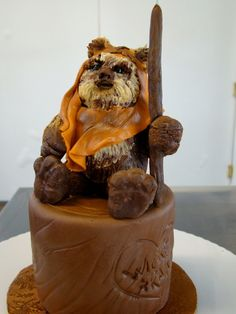 Star Wars Ewok cake
