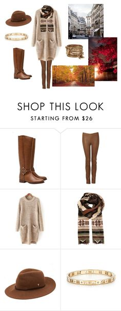 Boots and Brown by hacklebarney on Polyvore featuring Tory Burch, ALDO, Tiffany & Co., Etro and Helen Kaminski