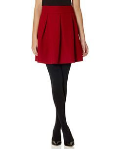 High Waisted Pleat Front Skirt from THELIMITED.com #ItsTime #TheLimited