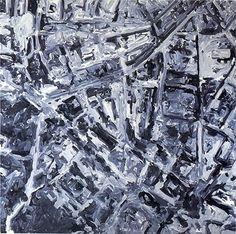 Gerhard Richter, Stadtbild PL (Townscape PL) 1970, 200 cm x 200 cm, Catalogue Raisonné: 251, Oil on canvas