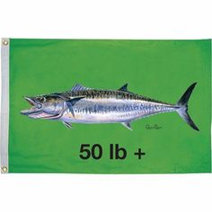 Taylor Carey Chen Offshore Fish Flag, Assorted