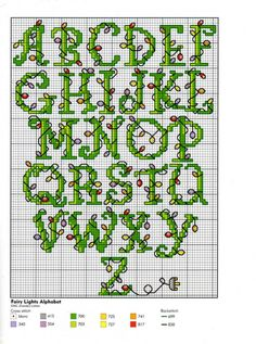 holiday letters in cross stitch Christmas Cross Stitch Alphabet, Cross Stitch Alphabet Patterns, Cross Stitch Christmas Ornaments, Cross Stitch Letters, Cross Stitch Love, Cross Stitch Designs, Cross Stitching, Cross Stitch Embroidery, Blog