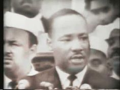 "VIDEO: The conclusion of Martin Luther King Jr.'s ""I Have a Dream"" speech from the steps of the Lincoln Memorial on August 28, 1963. [5:18]"