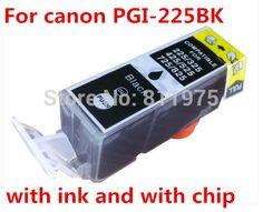 15pcs Free Shipping PGI 225 Compatible Ink Cartridge For Canon PIXMA IX6520/IP4820/IP4920 MG5120/MG5220//MG5320 Printer