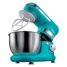 Sencor Food mixer STM 3017TQ - Ideal for preparing larger amounts of dough, cream, whipped cream, foam, etc. - 4-litre Stainless steel bowl - Capacity to prepare up to 1.6 kg of dough